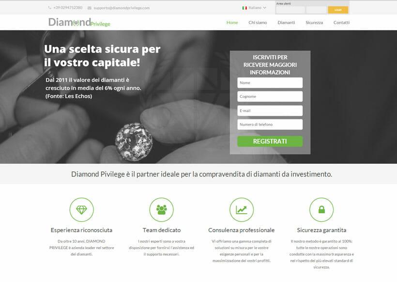 investi in diamanti con Diamond Privilege