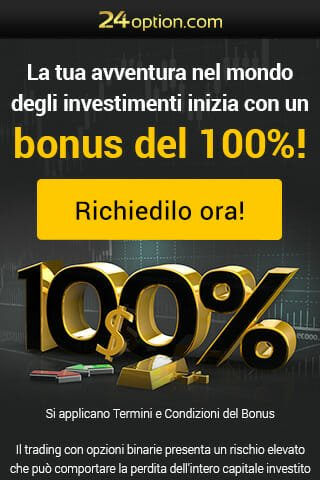 Bonus Esclusivo di 24option!