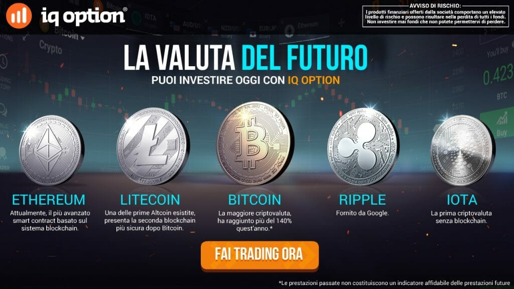 Investi in Criptovalute iqoption