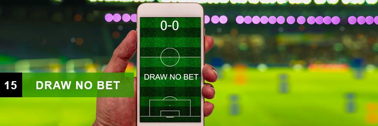 Scommesse sportive: draw no bet