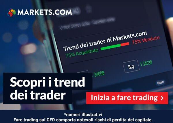 Scopri i Trend dei trader esperti!