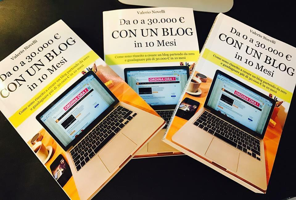 Libro da 0 a 30000€ con un Blog