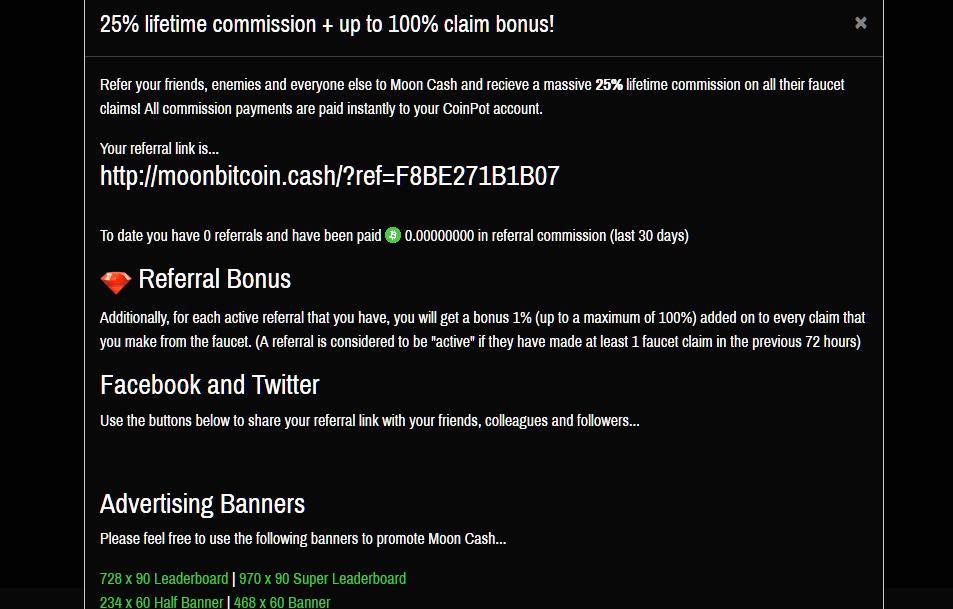 faucet per guadagnare bitcoincash
