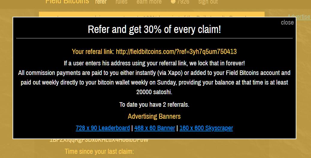 schermata referral