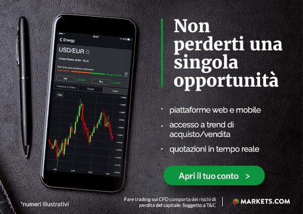 apri un conto con markets