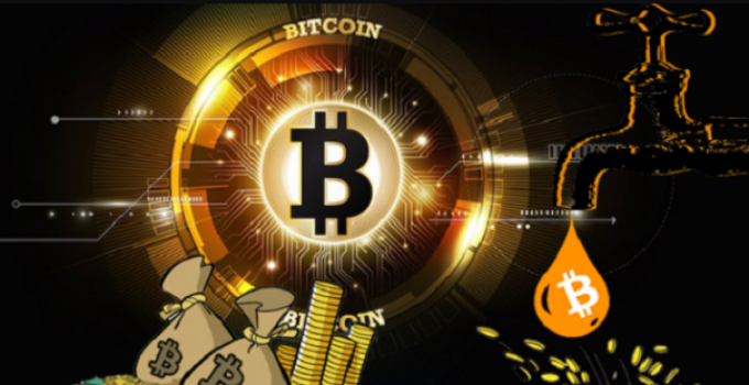 creare faucet bitconi