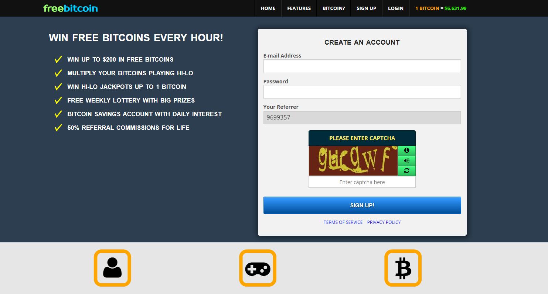 registrazione freebitcoin