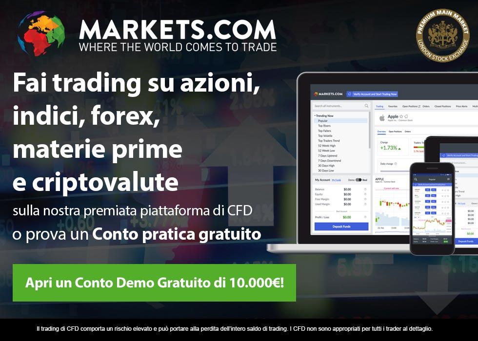 Conto Trading Demo Gratis