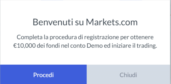 procedura markets.com