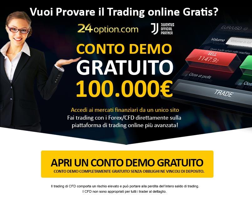 Conto Demo gratuito!