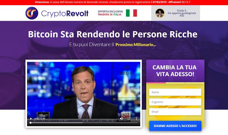 crtpto revolt homepage