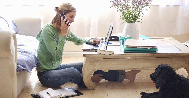 pro e contro lavorare da casa