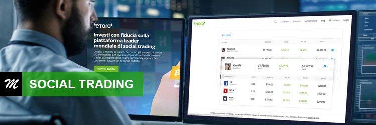 Guida al Social trading con eToro di Millionaireweb.it