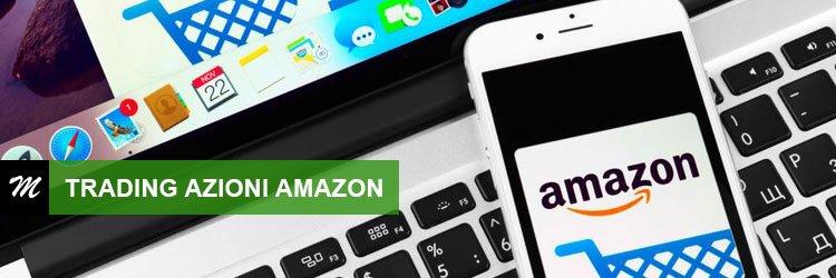 Trading online su azioni Amazon