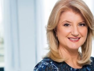 "Arianna Huffington e il suo blog ""The Huffington Post"""