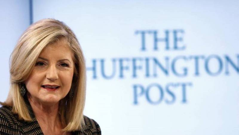 "Quando decise di aprire un suo blog, ""The Huffington Post"""