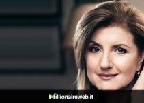 "Arianna Huffington e il suo blog ""The Huffington Post"""