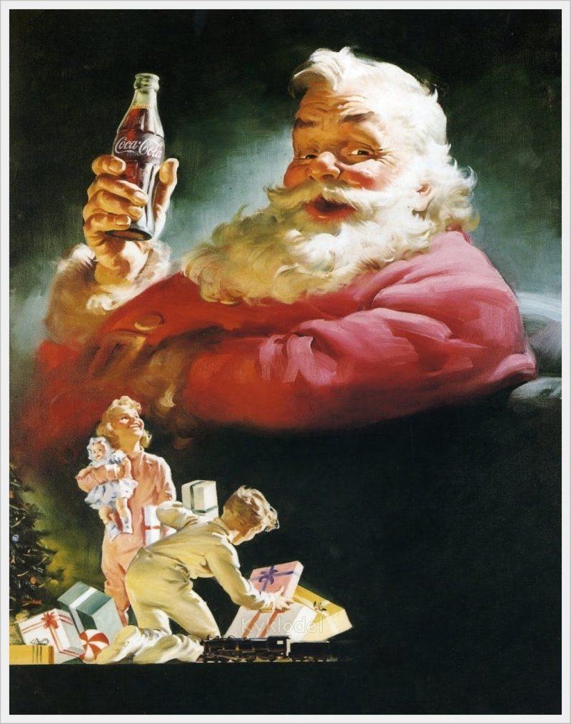 babbo natale Coca-Cola