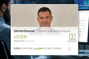 Il trader Olivier Jean Andre Danvel ha quasi raggiunto 9000 copiatori