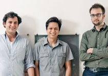 Ben Silbermann, Evan Sharp e Paul Sciarra, i fondatori di Pinterest