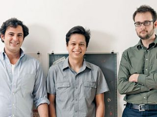 Ben Silbermann, Evan Sharp e Paul Sciarra fondatori di Pinterest