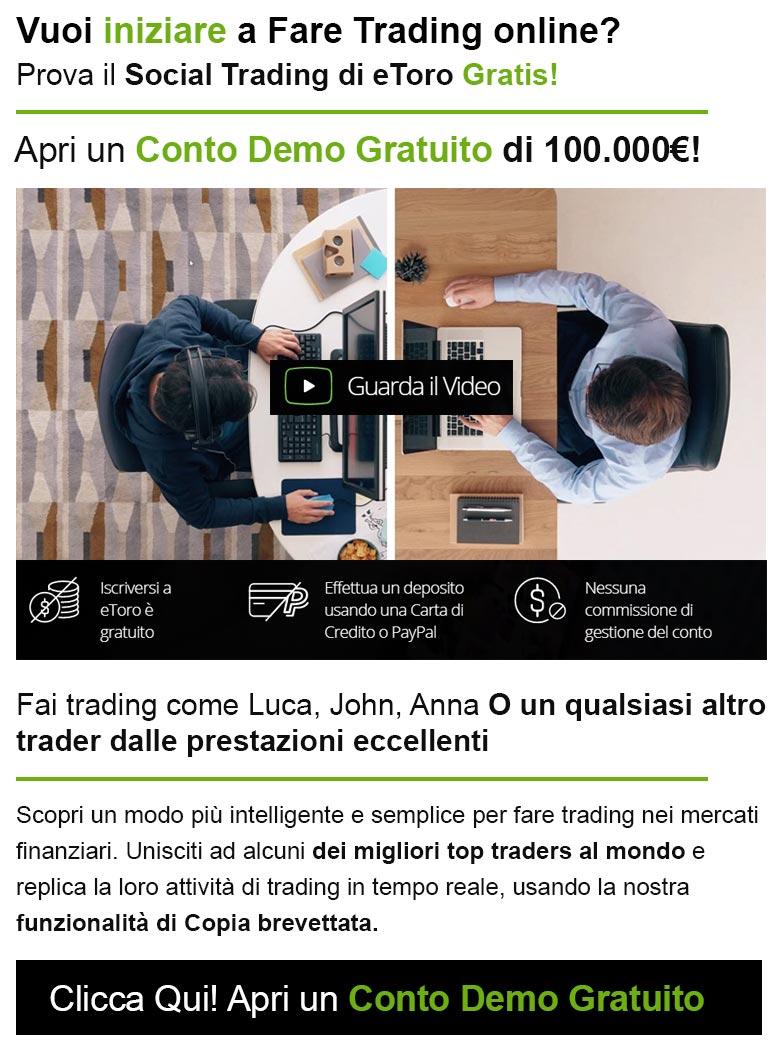 Prova Social Trading Gratis!