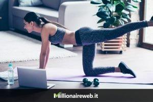Lezioni Fitness Online, guadagnare come Personal Trainer