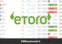 eToro Demo, è Gratuito con il Broker di Social trading