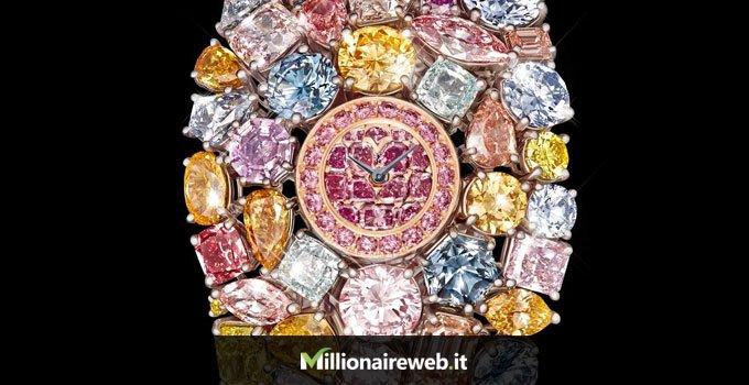 Orologio lusso diamanti