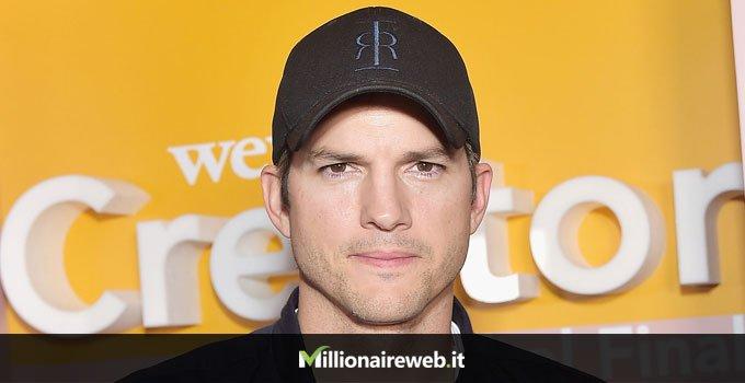 Ashton Kutcher:viaggio nello spazio $200.000
