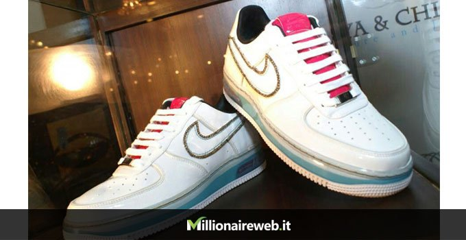 Big Boi's Diamond Nike AF1 Sneakers: $50.000