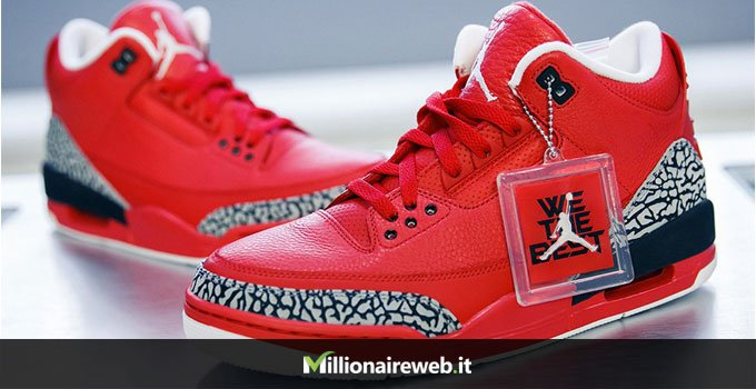 "DJ Khaled x Air Jordan 3 ""Grateful"": $25.000"
