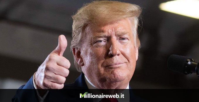 Donald Trump: aereo privato $100 milioni