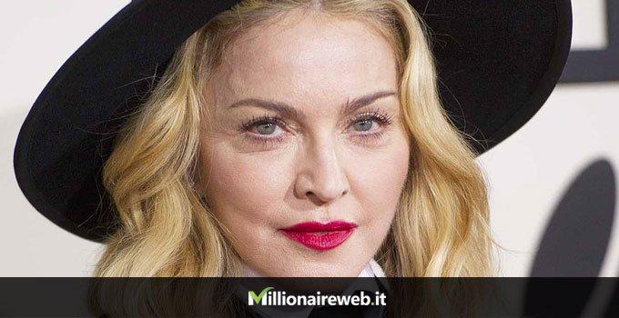 Madonna: acqua $100.000 al mese