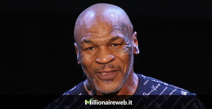 Mike Tyson: tigre bianca $65.000