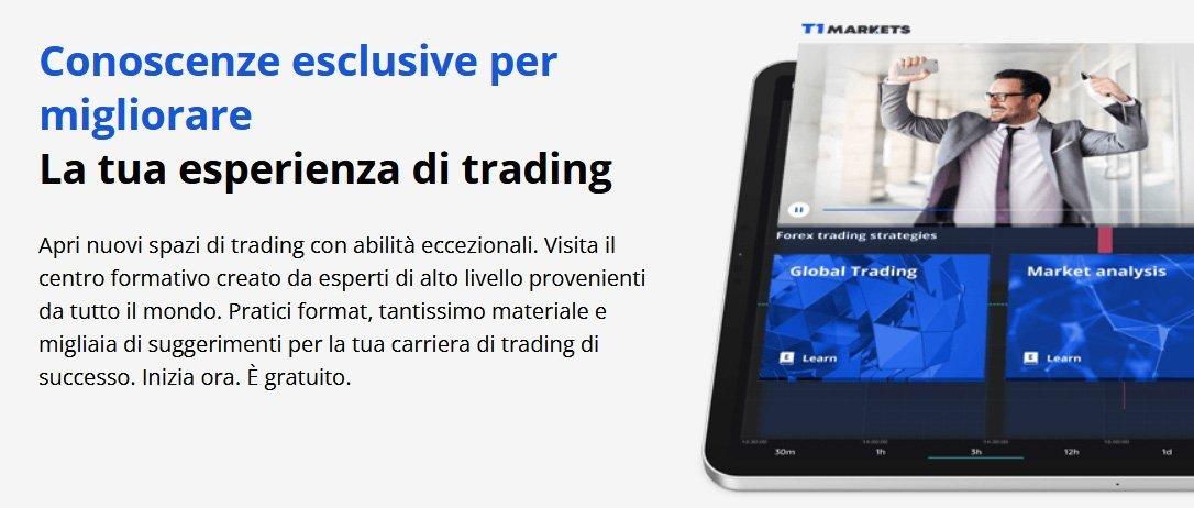 Migliora la tua esperienza di trading online