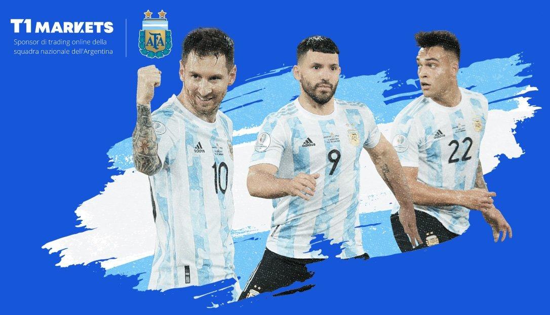 Sponsor di trading online della squadra nazionale dell'Argentina